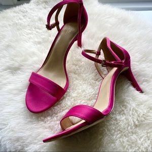 Michael Kors 💕 Hot Pink Fuchsia Heeled Sandals 8M